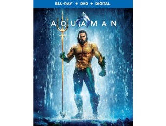 60% off Aquaman (Blu-ray/DVD)