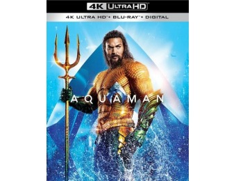 33% off Aquaman (4K Ultra HD Blu-ray/Blu-ray)