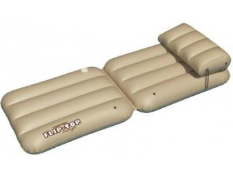 "49% off Swimline 88"" x 28"" Tan Flip Top Pool Lounger"