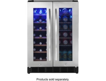 $300 off Insignia 42 Bottle or 114 Can Built-in Cooler - Stainless steel