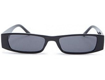 87% off Slim Rectangle Sunglasses