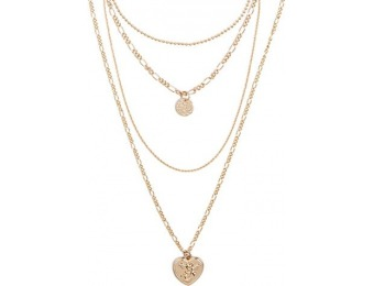86% off Charm Necklace Set