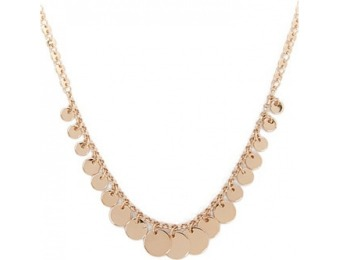 83% off Disc Charm Necklace