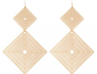 80% off Geo Drop Earrings