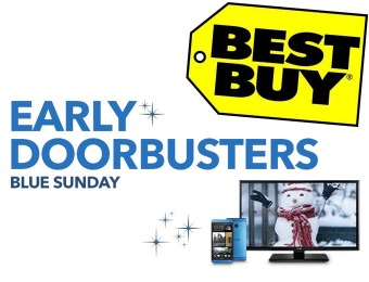 Blue Sunday Early Doorbusters at Best Buy