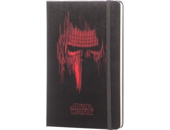 40% off Moleskine Limited Edition Star Wars VII Ruled Notebook