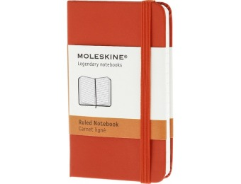 33% off Moleskine Ruled Notebook - Red