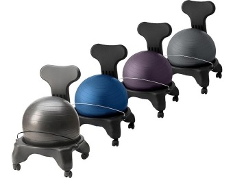 25% off Gaiam Ergonomic Balance Ball Chairs, 9 Colors