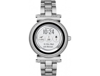 $176 off Michael Kors Access Sofie Smartwatch - Silver