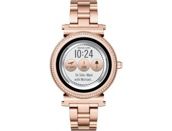 $161 off Michael Kors Access Sofie Smartwatch - Rose Gold Tone