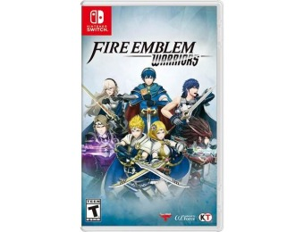 67% off Fire Emblem Warriors - Nintendo Switch