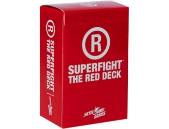 62% off Superfight Game: Red Adult Deck