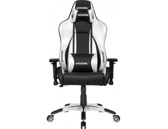 $179 off AKRACING Masters Series Premium Gaming Chair - Silver