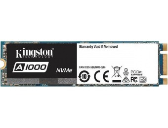 $110 off Kingston A1000 M.2 2280 480GB NVMe SSD
