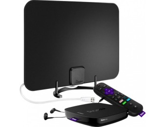 $55 off Roku Ultra Streaming Media Player with HDTV Antenna