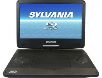 "$50 off Sylvania 13.3"" Portable Blu-ray Player"