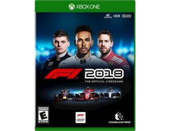 67% off F1 2018 - Xbox One