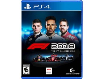 67% off F1 2018 - PlayStation 4