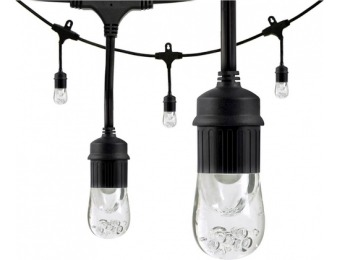 36% off Enbrighten Café LED Lights (24 feet/12 bulbs)