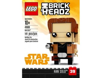 55% off LEGO BrickHeadz Han Solo Building Set 41608