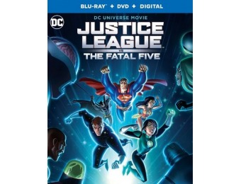 50% off Justice League vs. The Fatal Five (Blu-ray/DVD)
