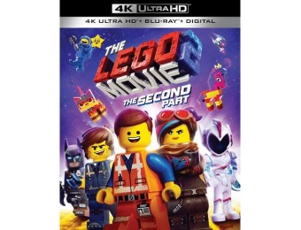 $10 off The LEGO Movie 2: The Second Part (4K Ultra HD Blu-ray)
