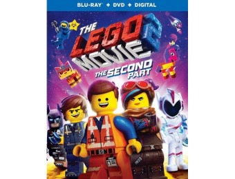 48% off The LEGO Movie 2: The Second Part (Blu-ray/DVD)