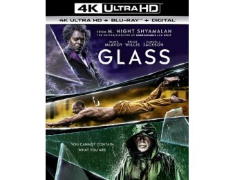 33% off Glass (4K Ultra HD Blu-ray/Blu-ray)