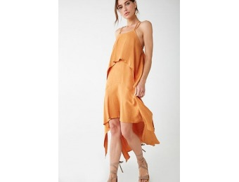 70% off Layered High-Low Dress