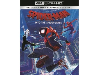 50% off Spider-Man: Into the Spider-Verse (4K Ultra HD Blu-ray/Blu-ray)