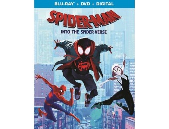 64% off Spider-Man: Into the Spider-Verse (Blu-ray/DVD)