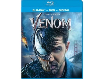 60% off Venom (Blu-ray/DVD)