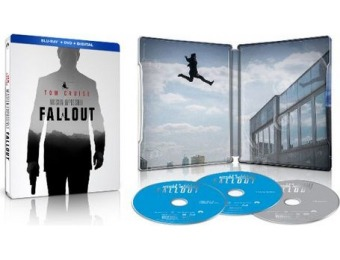 70% off Mission: Impossible - Fallout [SteelBook] Blu-ray/DVD