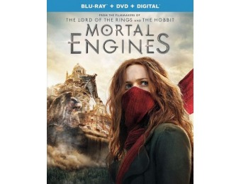 57% off Mortal Engines (Blu-ray/DVD)