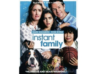 64% off Instant Family (Blu-ray/DVD)