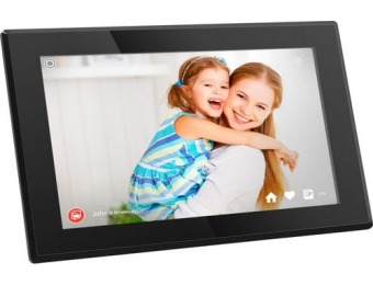 "$45 off Aluratek 15.6"" Widescreen LCD Wi-Fi Digital Photo Frame"