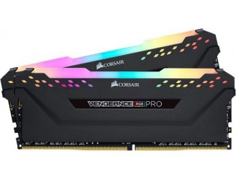 $95 off CORSAIR Vengeance RGB Pro 16GB (2 x 8GB) DDR4 2666