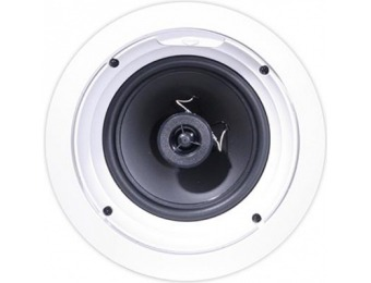 "60% off Klipsch R-1650-C 6.5"" 140W In-Ceiling Speaker"