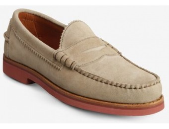 $90 off Allen Edmonds Sedona Suede Penny Loafer