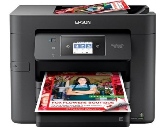 $90 off Epson WorkForce Pro WF-3730 Wireless All-In-One Printer