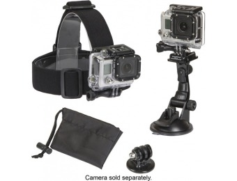 78% off Sunpak PlatinumPlus Action Camera Accessory Mount Kit