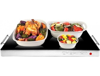 $30 off Chefman 400W Glass-top Warming Tray