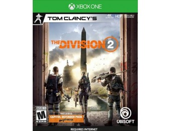 33% off Tom Clancy's The Division 2 - Xbox One