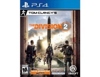 33% off Tom Clancy's The Division 2 - PlayStation 4