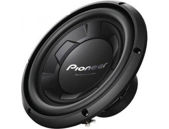 "44% off Pioneer 10"" Single-Voice-Coil 4-Ohm Subwoofer"