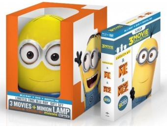 44% off Despicable Me: 3-Movie Collection (Blu-ray) w/ Minion Lamp