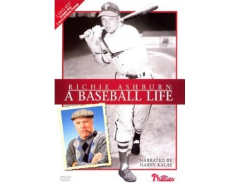 70% off Richie Ashburn: A Baseball Life [2 Discs] DVD