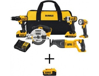 $379 off DEWALT 20-Volt MAX Lithium-Ion Cordless Combo Kit