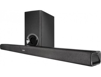 $50 off Denon 2.1-Ch Soundbar System with Wireless Subwoofer