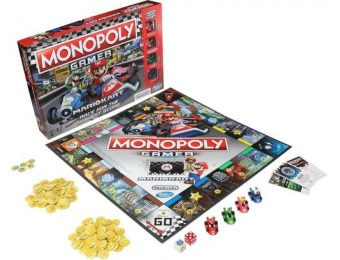 20% off Monopoly Gamer Mario Kart Board Game